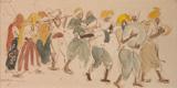 Untitled - K K Hebbar - Modern Masters on Paper: LIVE Auction