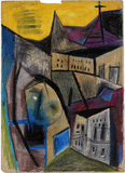Untitled - Ram  Kumar - Modern Masters on Paper: LIVE Auction