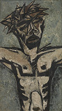 Untitled (Christ) - Krishen  Khanna - Summer Online Auction