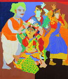 Untitled - K Laxma  Goud - Modern and Contemporary Indian Art