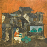 Untitled - Badri  Narayan - 24 Hour Online Auction: Works on paper