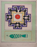 Untitled - Prabhakar  Barwe - 24 Hour Online Auction: Works on paper