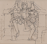 Untitled - Ganesh  Pyne - 24 Hour Online Auction: Works on paper