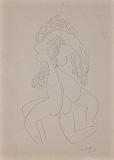 Untitled - G R Santosh - 24 Hour Online Auction: Works on paper