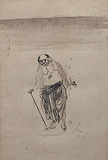Untitled - Gaganendranath  Tagore - 24 Hour Online Auction: Works on paper
