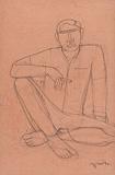 Untitled - Lalu Prasad Shaw - 24 Hour Online Auction: Works on paper