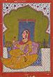 PORTRAIT OF A PRINCESS - Classical Indian Art