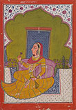 PORTRAIT OF A PRINCESS -    - Classical Indian Art