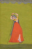 A COURTESAN IN ECSTASY -    - Classical Indian Art