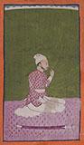 PORTRAIT OF A COURTIER -    - Classical Indian Art