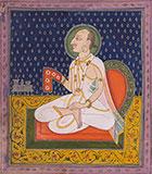A MEMBER OF THE ROYAL KISHANGARH FAMILY AT WORSHIP -    - Classical Indian Art
