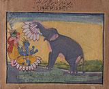 GAJENDRA MOKSHA -    - Classical Indian Art