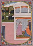 GUPTA NAYIKA -    - Classical Indian Art
