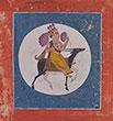 RAGAPUTRA CHANDRAVIMBA OF HINDOLA RAGA - Classical Indian Art