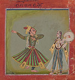 RAGAPUTRA BHRAMARANANDA OF MALKOSA RAGA -    - Classical Indian Art