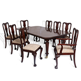 A STUNNING PERIOD DINING SUITE -    - 20th Century Design