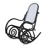 A THONET-STYLE BENTWOOD ROCKING CHAIR -    - 20th Century Design
