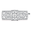 AN ART DECO DIAMOND BROOCH - Online Auction of Fine Jewels and Silver