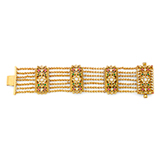 A GEMSET BRACELET -    - Online Auction of Fine Jewels and Silver