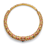 A GEMSET 'HASLI' NECKLACE -    - Online Auction of Fine Jewels and Silver