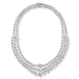 AN IMPORTANT DIAMOND NECKLACE -    - Online Auction of Fine Jewels and Silver
