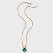 AN EMERALD AND DIAMOND PENDANT BY GYAN - Online Auction of Fine Jewels and Silver
