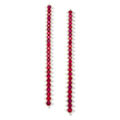 AN IMPRESSIVE PAIR OF RUBY AND DIAMOND EAR PENDANTS BY GYAN - Online Auction of Fine Jewels and Silver