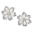 A PAIR OF DIAMOND EAR CLIPS - Online Auction of Fine Jewels and Silver