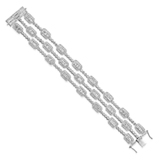 A DIAMOND BRACELET -    - Online Auction of Fine Jewels and Silver