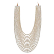 A FOURTEEN ROW PEARL NECKLACE - Online Auction of Fine Jewels and Silver