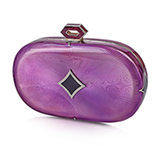A PURPLE MINAUDIERE, OCIE -    - Online Auction of Fine Jewels and Silver