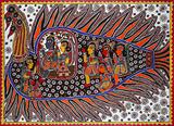 Madhubani Painting - Baua  Devi - The Discerning Eye | Bangalore, Live
