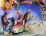 Untitled - Bhupen  Khakhar - Modern Evening Sale | Mumbai, Live