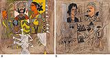 a) Composition 3 b) Composition 4 - K G Subramanyan - Modern Evening Sale | Mumbai, Live