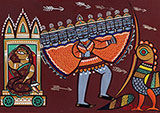 Untitled (Sita, Ravana and Jatayu) - Jamini  Roy - Evening Sale | New Delhi, Live