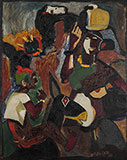 Untitled (Village Scene) - M F Husain - Evening Sale | New Delhi, Live