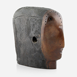 Lady Head with Hole - Himmat  Shah - Summer Online Auction