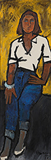 Paola - M F Husain - Summer Online Auction