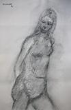 Untitled - Akbar  Padamsee - Works on Paper Online Auction
