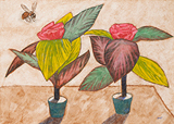 Fragrance of Plastic Flowers - Amit  Ambalal - Works on Paper Online Auction