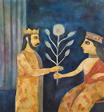 Untitled - Badri  Narayan - Works on Paper Online Auction