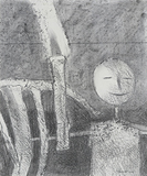 Untitled - Ganesh  Pyne - Works on Paper Online Auction