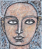 Untitled - Jogen  Chowdhury - Works on Paper Online Auction