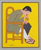 Untitled - Lalu Prasad Shaw - Works on Paper Online Auction