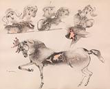 Untitled - Sakti  Burman - Works on Paper Online Auction