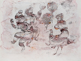 Untitled - Sakti  Burman - Works on Paper Online Auction