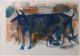 Untitled - Somnath  Hore - Works on Paper Online Auction