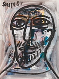 Untitled - F N Souza - Works on Paper Online Auction
