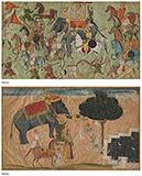 ROYAL PROCESSION/PRINCESS APPROACHING SLEEPING RAJA -    - Classical Indian Art | Live Auction, Mumbai