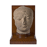 HEAD OF BUDDHA -    - Classical Indian Art | Live Auction, Mumbai
